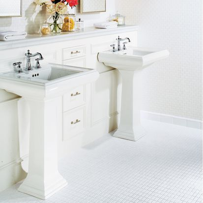 White Bathroom Tile. American Olean White Mosaic Tile 1 Bathroom Pictures for Design Ideas