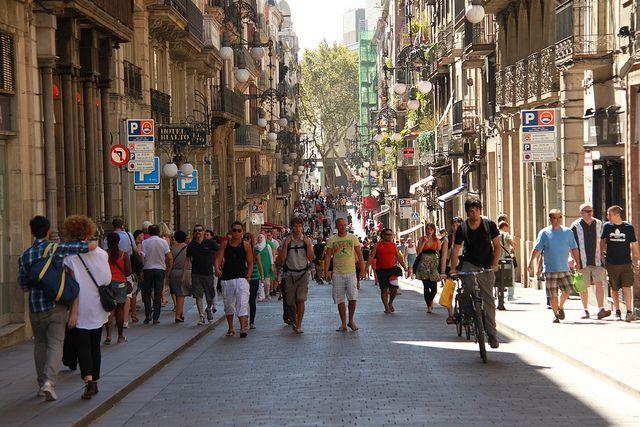 September in Barcelona