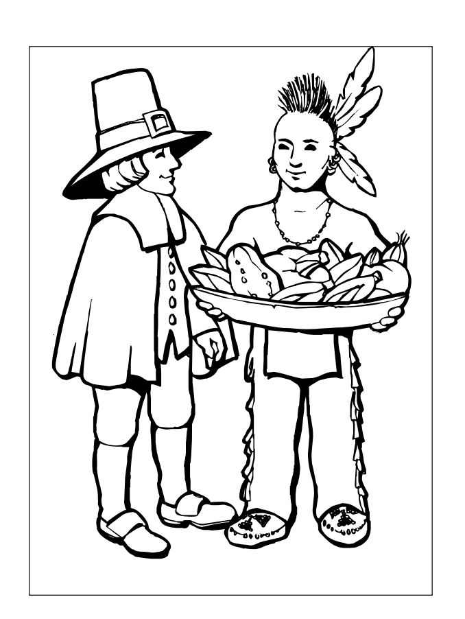 217 thanksgiving coloring pages for kids - Coloring Pages For Thanksgiving