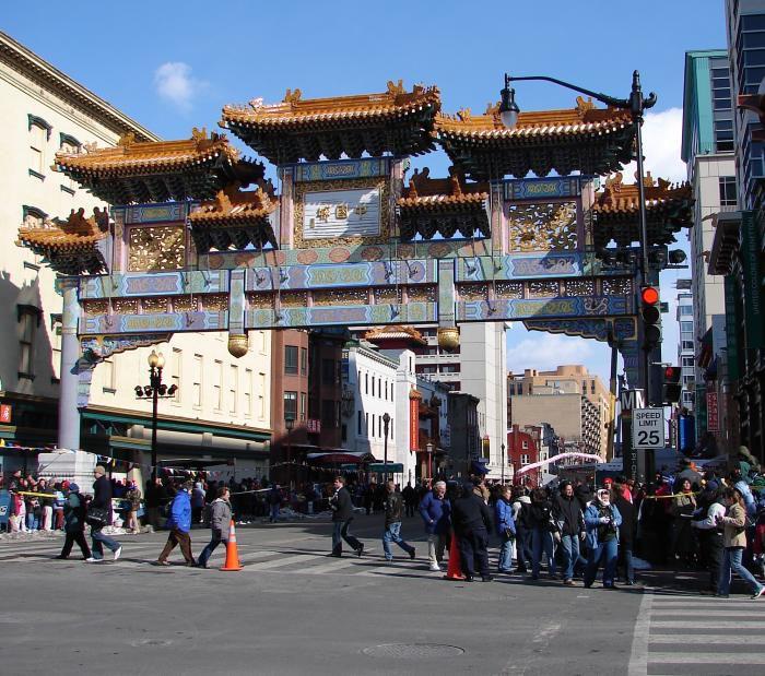 chinatown friendship arch washington dc - Chinese New Year Dc