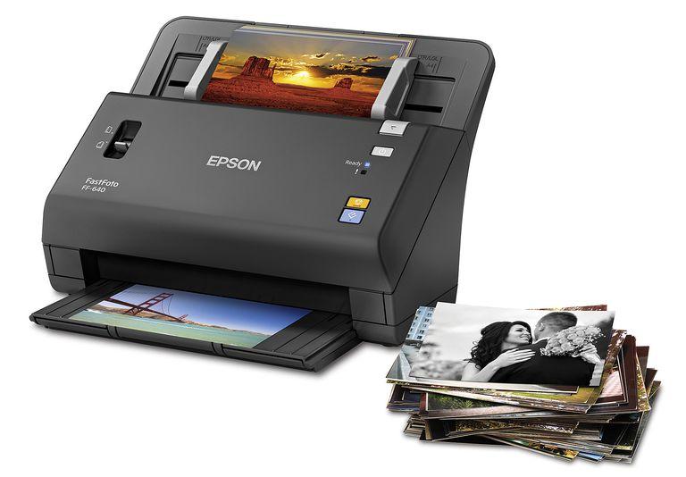 Epson FastFoto FF-640 High-Speed Photo Scanner