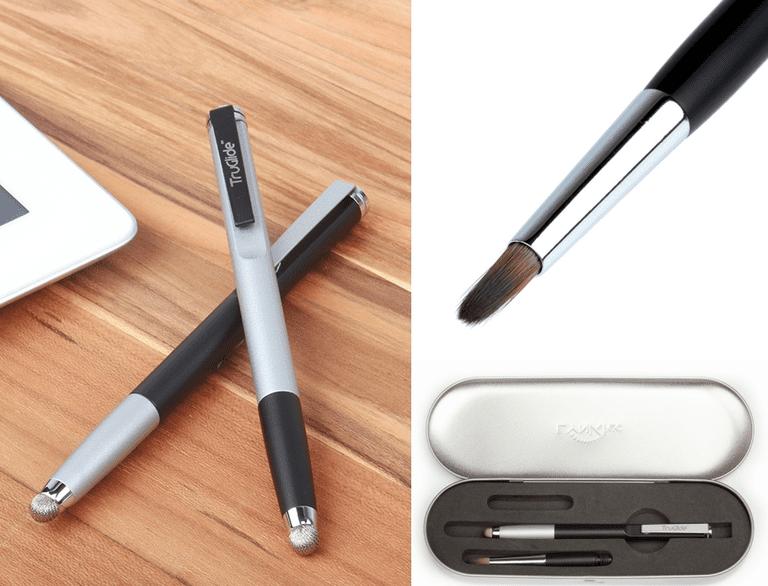 TruGlide Pro Stylus & Artist Paintbrush Tip Bundle