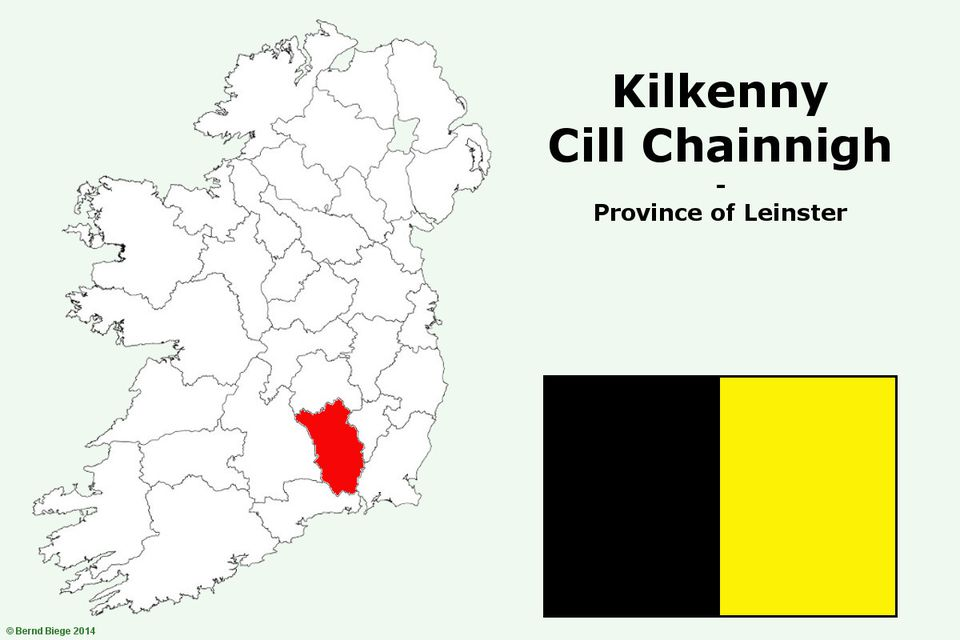 Counties In The Province Of Leinster - Ireland provinces map