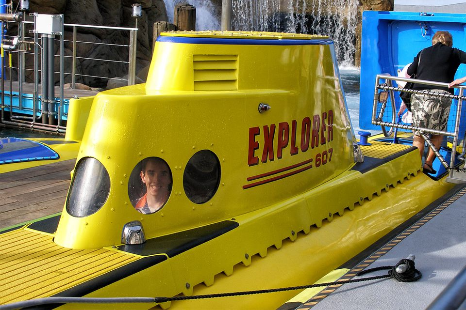 Finding Nemo Ride at Disneyland