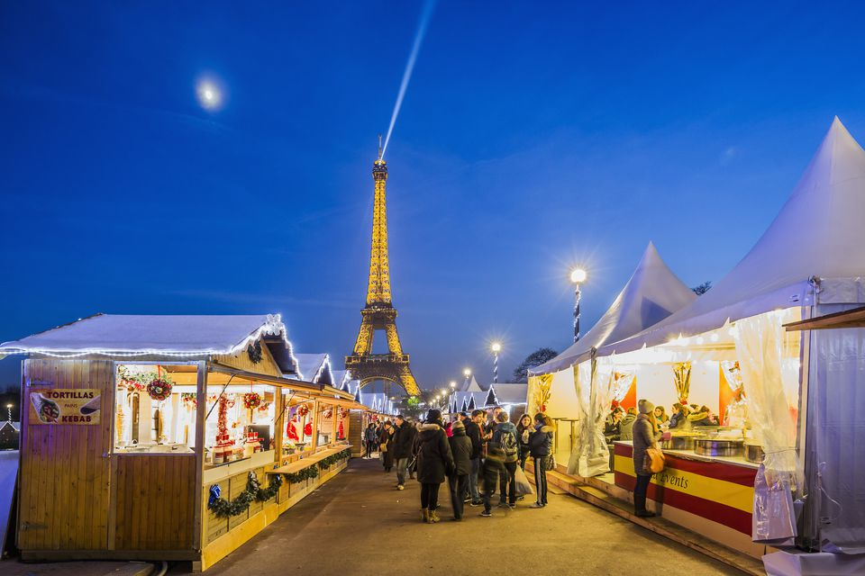 Christmas Village Trocadéro