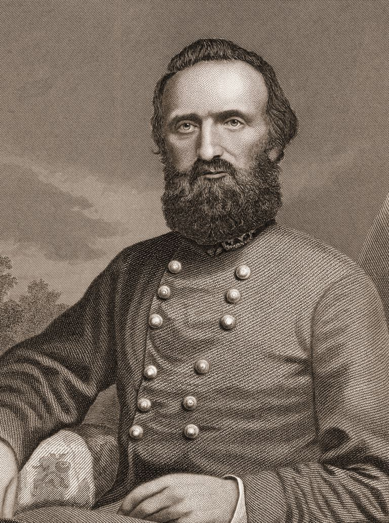 Stonewall Jackson, Confederate General