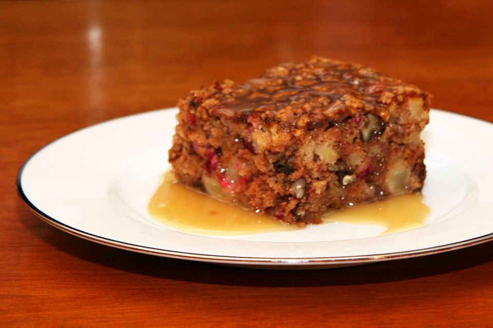 apple cranberry cake