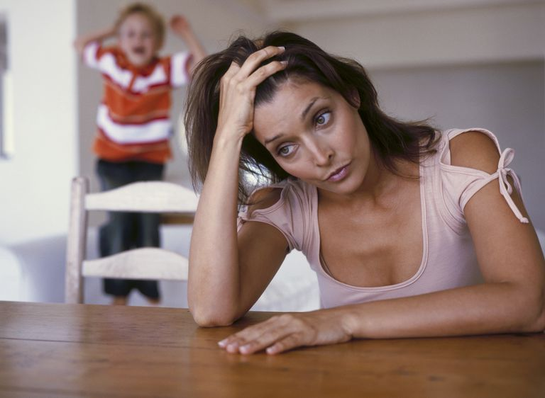 Moms experience a lot of stress