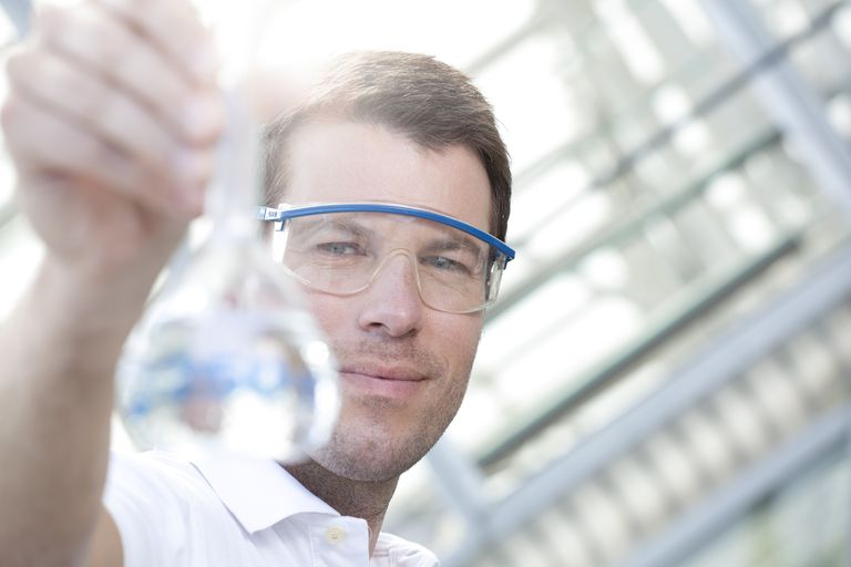 Chemists study matter and develop need tools to analyze chemicals.