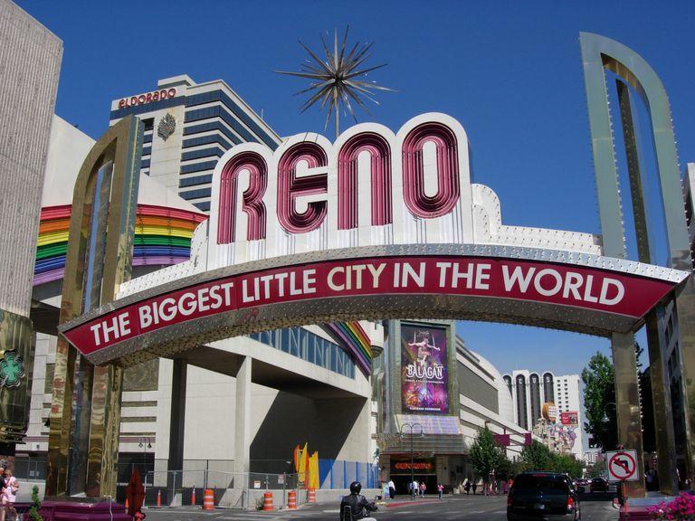 Reno, Nevada Biggest Little City Sign