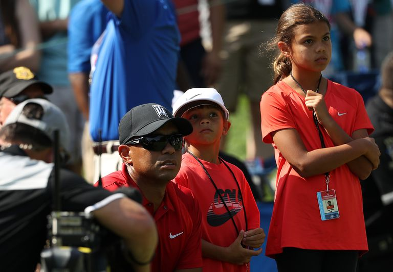 Photo Gallery Tiger Woods Cute Kids Sam And Charlie