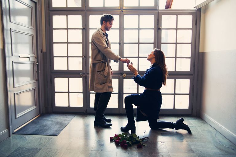 A Woman Proposes