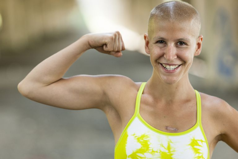 A determined cancer survivor.