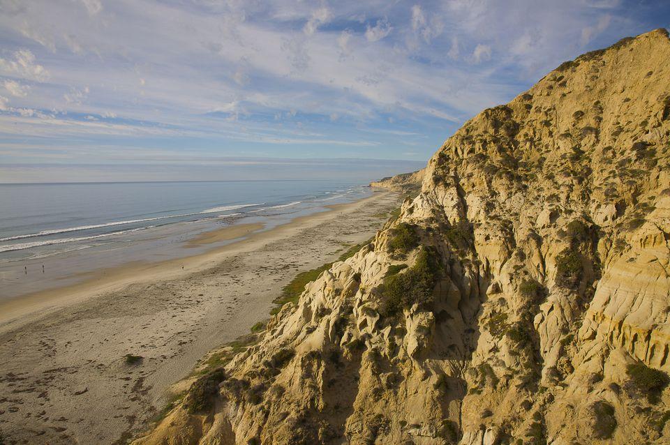 Black's Beach in San Diego, California