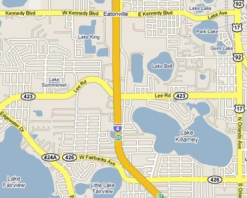 Orlando I-4 Exits - Interstate 4 Florida