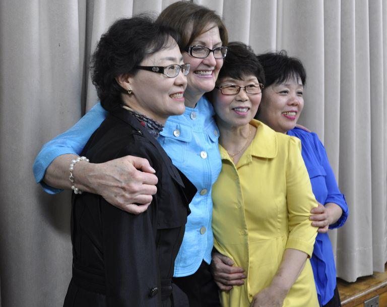 Relief Society President in South Korea