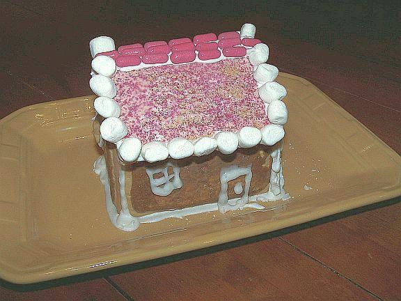 pop tart gingerbread house