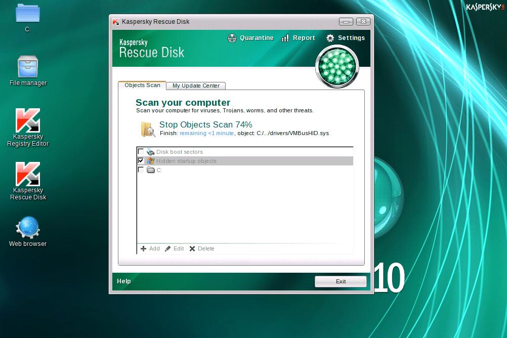 Resultado de imagem para Kaspersky Rescue Disk 10.0.32.17