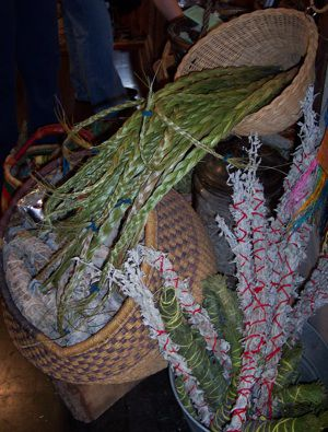 Braided Sweetgrass