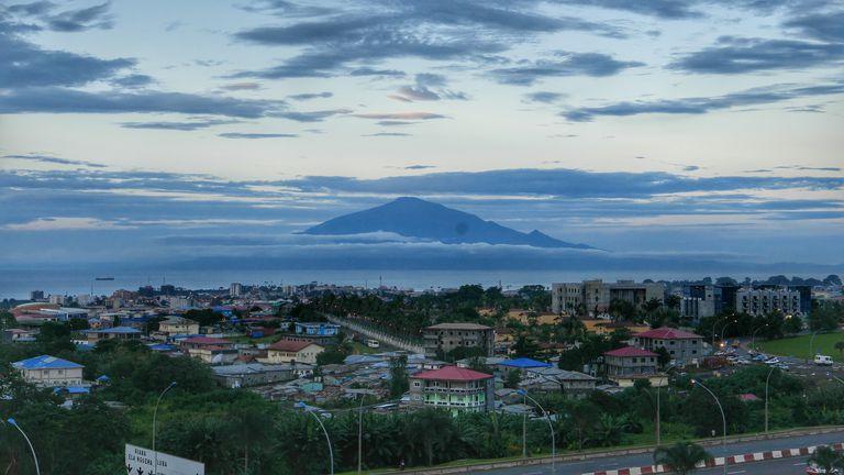 Equatorial Guinea cityscape