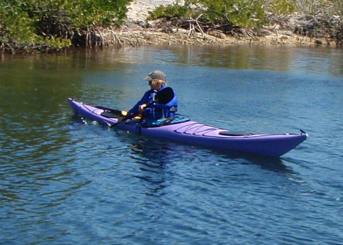 Kayaker Back Stroke
