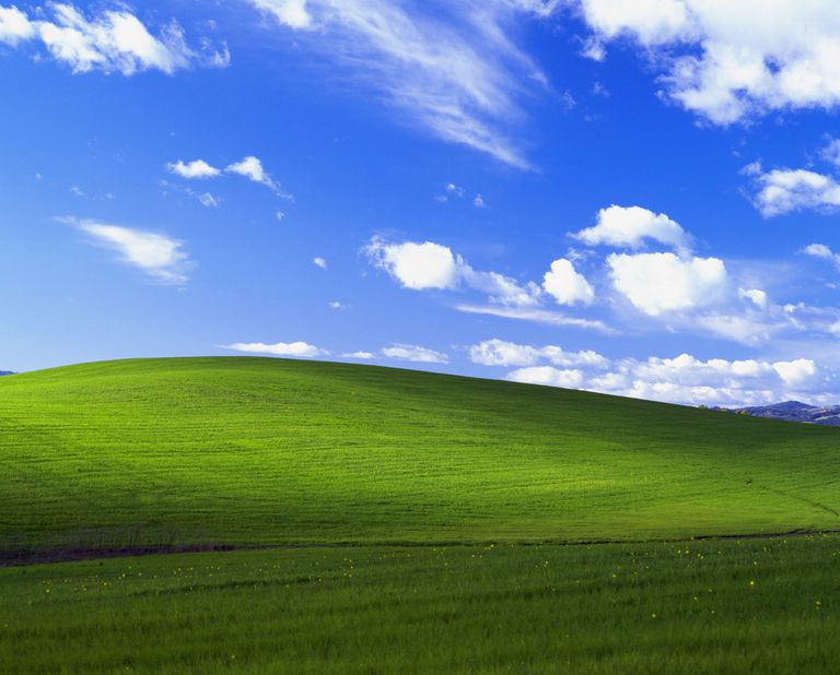 Windows XP Background, Bliss