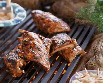 how to cook ribs on a gas grill recipe
