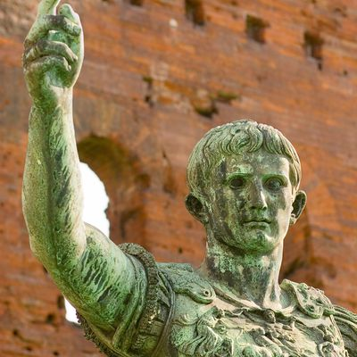 a biography of augustus caesar the most important roman emperor Chronicles the fall of the republic and the rise of the roman empire augustus, who is easily arguably one of the greatest if not the greatest emperor founder of the empire itself and who during his 40 year reign was the one who rapidly expanded the empire, reformed the constitution, strengthened the.