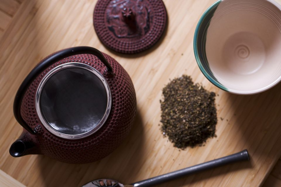 Organic tea and brewing accessories