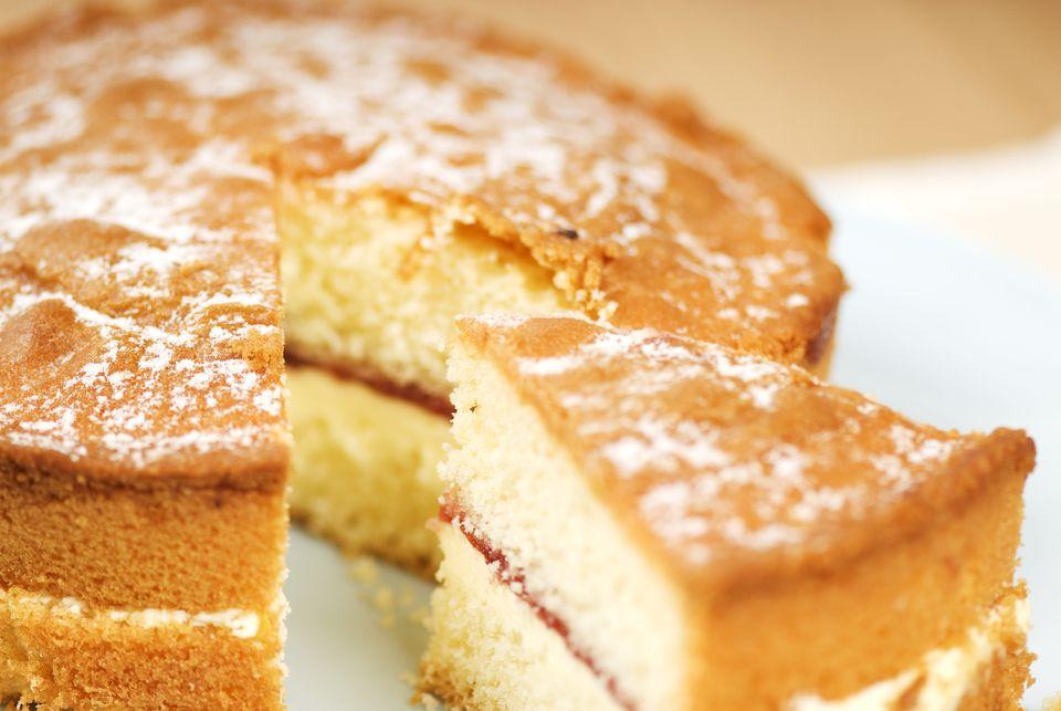 Flour Egg Sugar Water Asian Sponge Cake Recipe