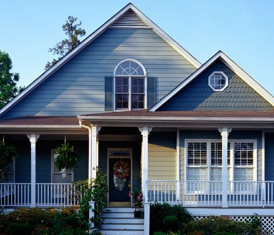 exterior house color designs - Exterior House Colors Blue