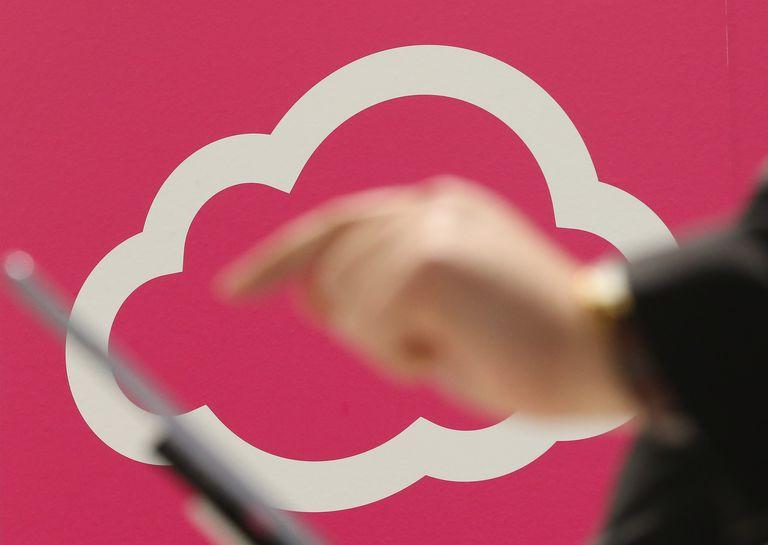Cloud Computing Symbol (CeBIT 2013)