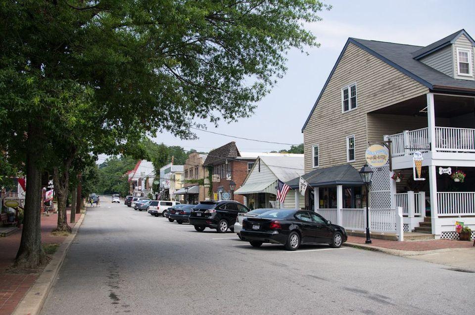 Mill Street - Occoquan, Virginia