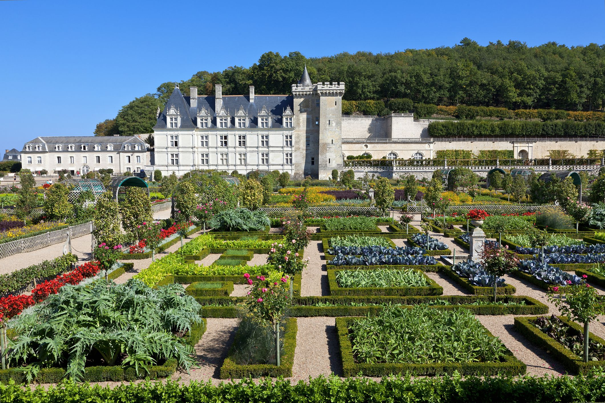 Gardens and chateaux in the western loire valley for Chateaux in france to stay