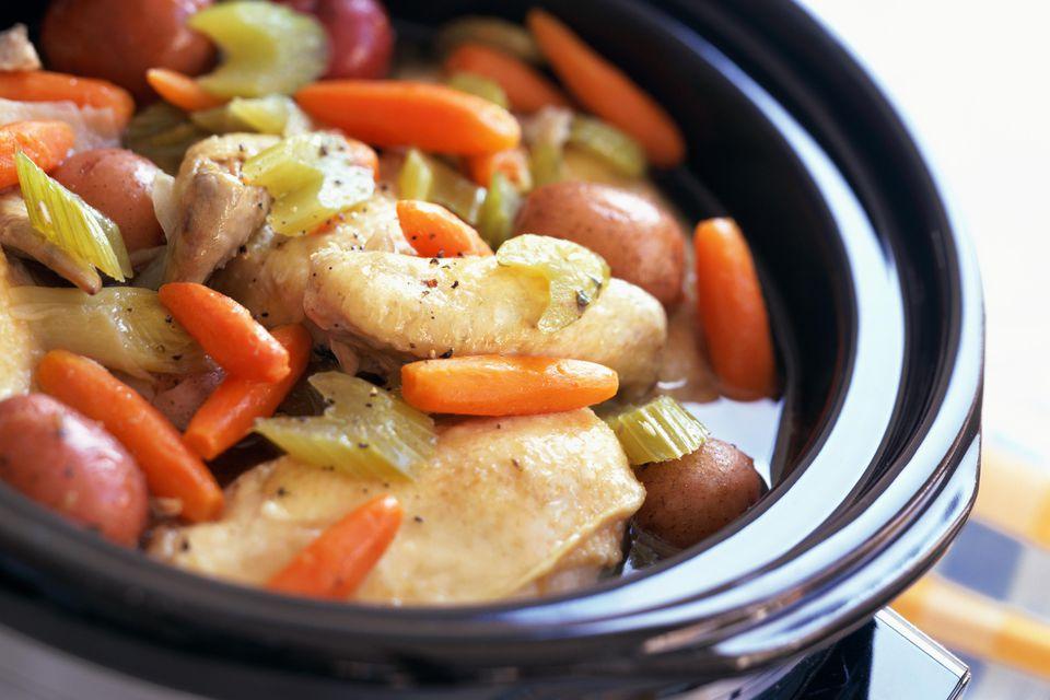 Chicken Stew In Crock Pot