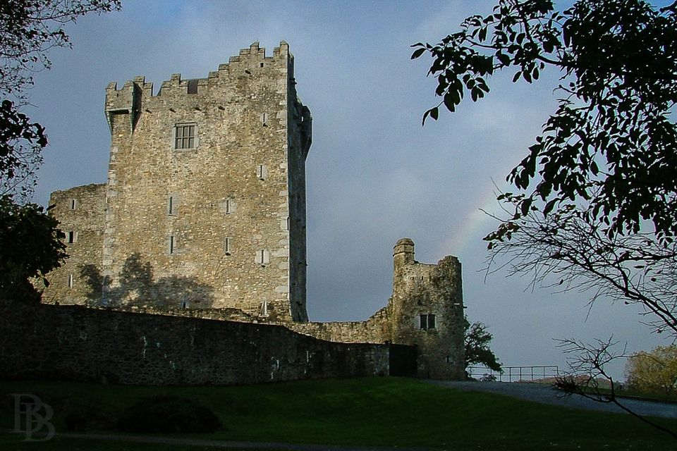 Ross Castle, guarding the Lakes of Killarney - from here most boat tours start