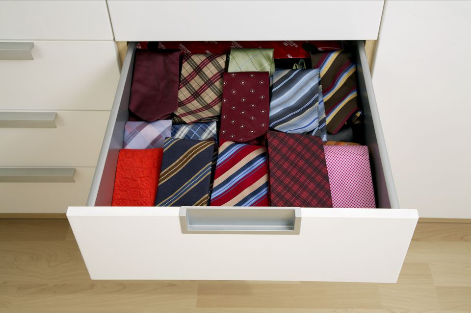 How to Clean, Iron, and Store Neckties