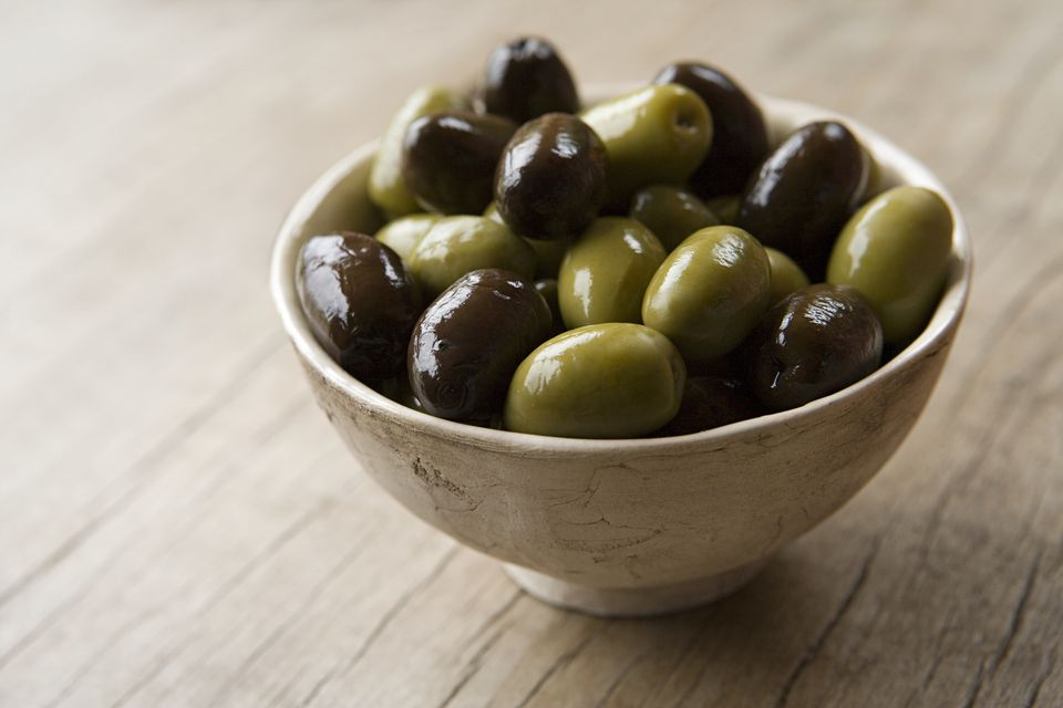 how to make green olives edible