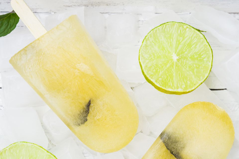 Caipirinha Fresh Fruit Popsicles