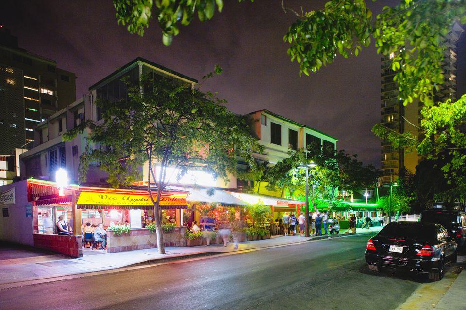 Bars on Ashford Drive in San Juan
