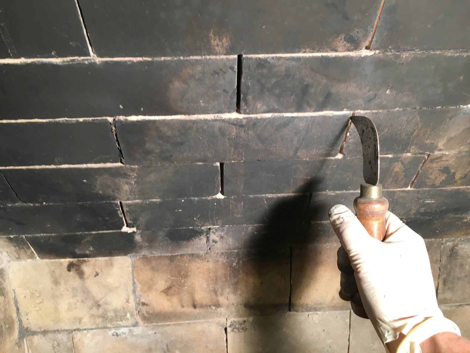 Learn how to easily fix mortar gaps or holes in between fire brick joints in your fireplace to prevent house fires.