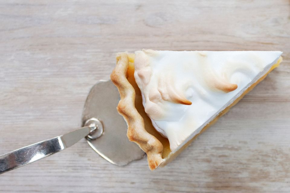 Pie with Meringue Topping