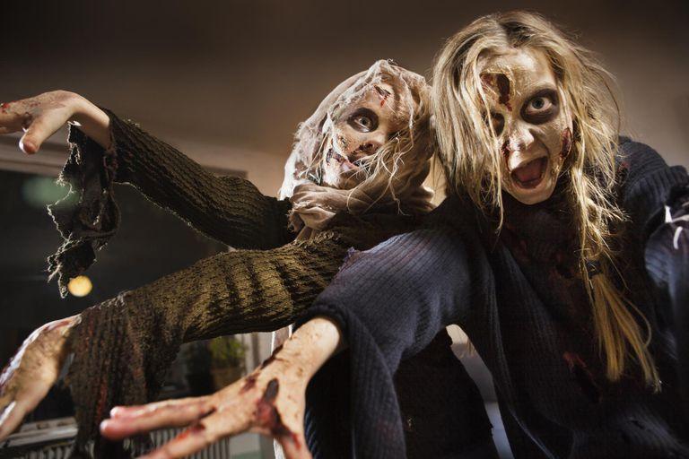 Halloween games for kids' parties - indoor monster dance
