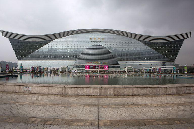 New Century Global Center in Chengdu, China