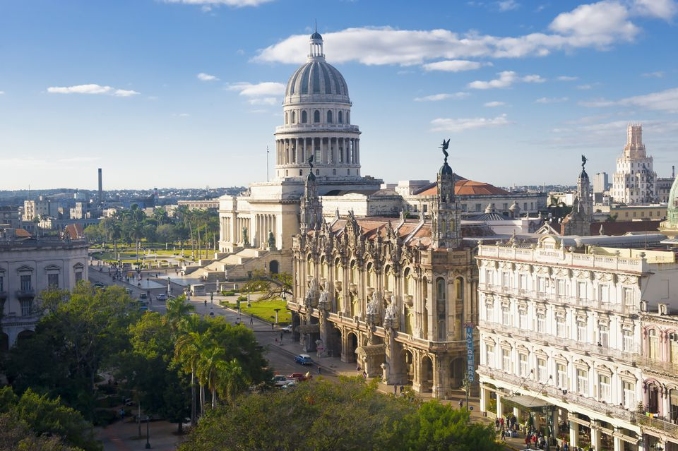 The historic Havana skyline