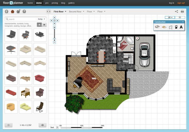 Room Dimensions Planner 5 free online room design applications