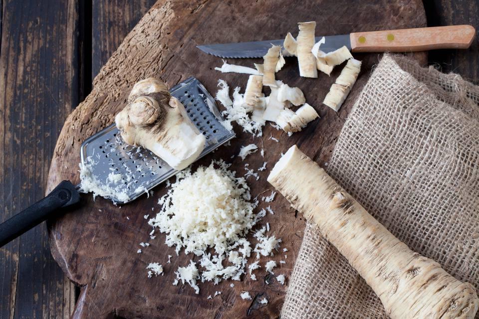 Grated horseradish