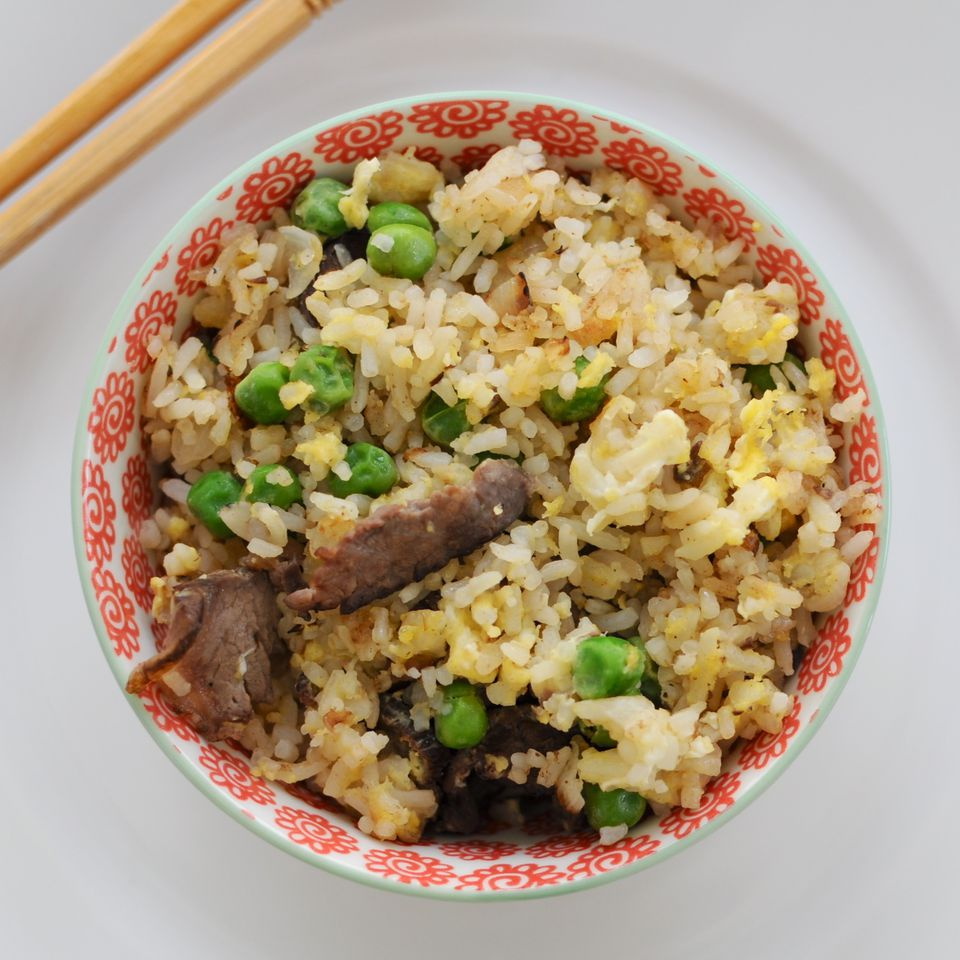 Really Simple Beef Fried Rice