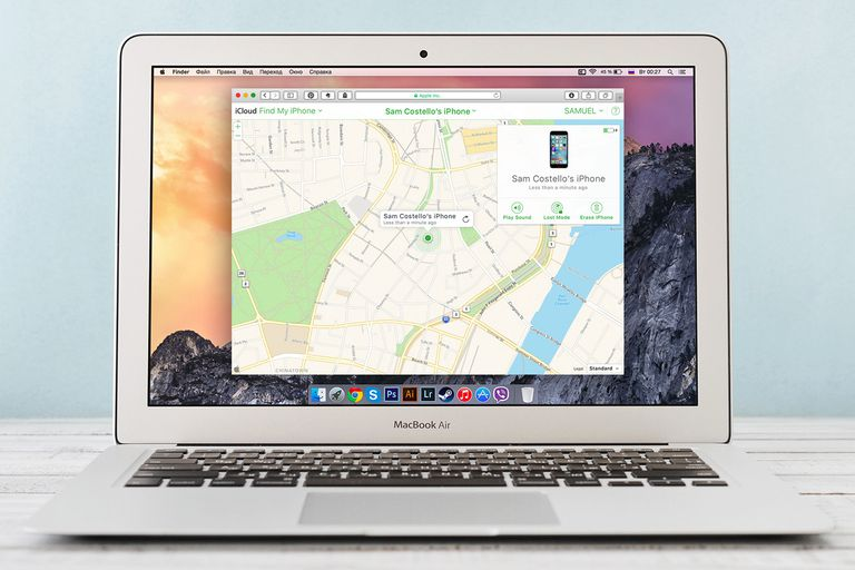 Where is my iphone download on macbook air