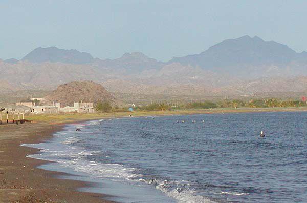 Rocky Beach at Loreto Bay, Mexico